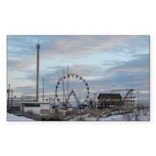 Fun Town Pier Seaside Park Jer Decal