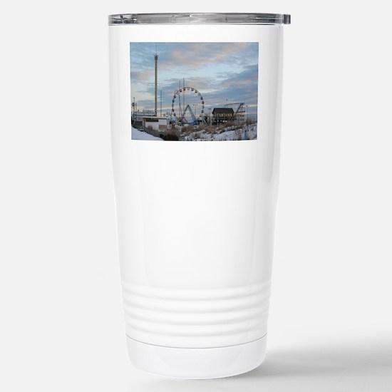 Fun Town Pier Seaside P Stainless Steel Travel Mug