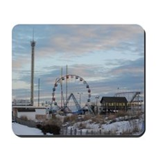 Fun Town Pier Seaside Park Jersey Shore  Mousepad