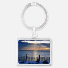 Sunrise Seaside Heights Jersey  Landscape Keychain