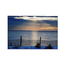 Sunrise Seaside Heights Jersey Sh Rectangle Magnet