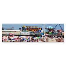 Summer fun Seaside Heights Jersey Bumper Sticker