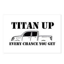 Titan Up Postcards (Package of 8)