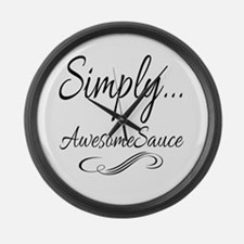 Simply AwesomeSauce Large Wall Clock