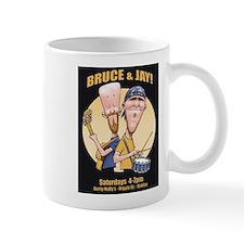 Bruce and Jay Small Mugs