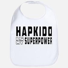 Hapkido Is My Superpower Bib