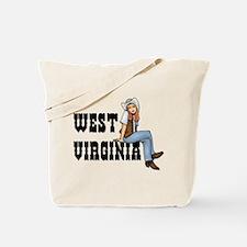 WV Cowgirl Tote Bag