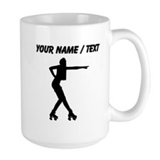 Custom Roller Derby Silhouette Mugs