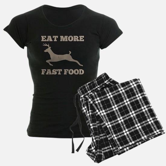 Eat More Fast Food Hunting H pajamas