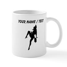 Custom Cowgirl Silhouette Mugs