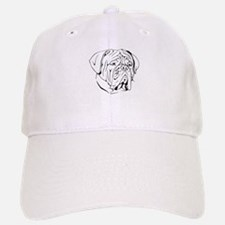 Bordeaux head design 1 Baseball Baseball Cap