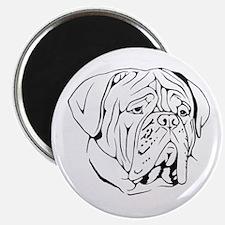 Bordeaux head design 1 Magnet