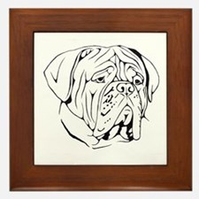 Bordeaux head design 1 Framed Tile