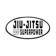 jiu Jitsu Is My Superpower Patches