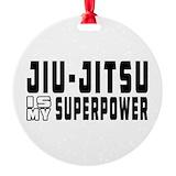 Jiu jitsu Round Ornament