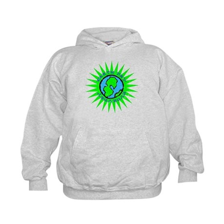 Earth Day Everyday #E2 Kids Hoodie