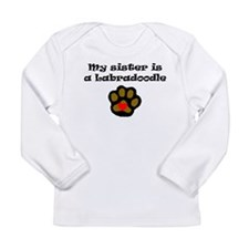 My Sister Is A Labradoodle Long Sleeve T-Shirt