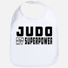 Judo Is My Superpower Bib