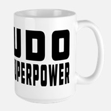 Judo Is My Superpower Large Mug
