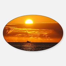 Pompano Beach Sunrise Decal