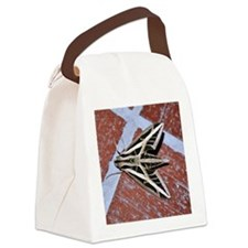 Vine Sphinx Moth Canvas Lunch Bag