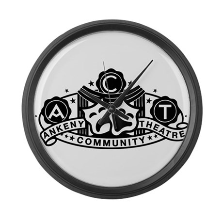 ACT Logo Large Wall Clock