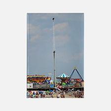 Seaside Heights Casino Pier  Rectangle Magnet