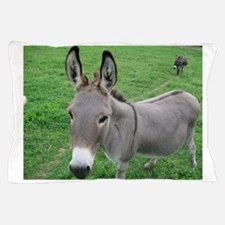 Miniature Donkey Pillow Case