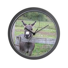Miniature Donkey II Wall Clock