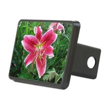 Stargazer Lily Hitch Cover