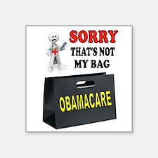 OBAMACARE BAG Sticker