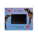 Plott hound Picture Frames