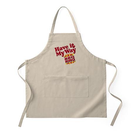 Have it My Way BBQ King<br>BBQ Apron