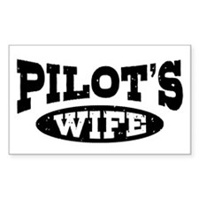 Pilot's Wife Decal