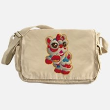 Cute Lion Dancer Messenger Bag