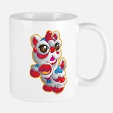 Cute Lion Dancer Mugs