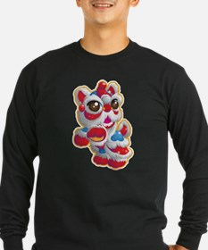 Cute Lion Dancer Long Sleeve T-Shirt