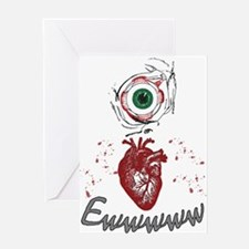 Eye Heart Ewww Greeting Cards