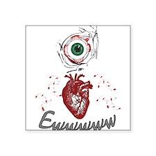 Eye Heart Ewww Sticker