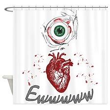 Eye Heart Ewww Shower Curtain