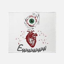 Eye Heart Ewww Throw Blanket