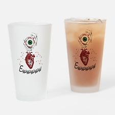 Eye Heart Ewww Drinking Glass