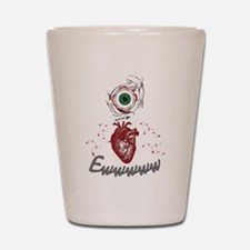 Eye Heart Ewww Shot Glass