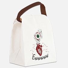 Eye Heart Ewww Canvas Lunch Bag