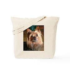 Australian Silky Terrier headstudy Tote Bag