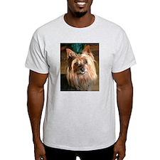 Australian Silky Terrier headstudy T-Shirt