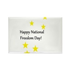 National Freedom Day Magnets