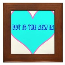 Out is the new in Framed Tile