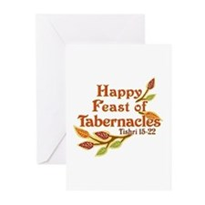 Happy Feast of Tabernacles Greeting Cards