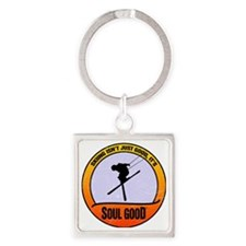 Freestyle Skiing - Soul Good Square Keychain